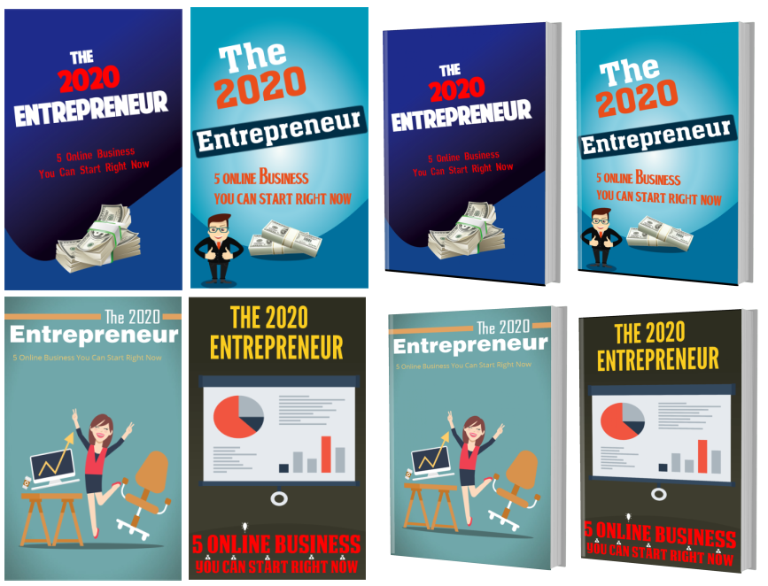 The 2020 Entrepreneur - 4 extra covers